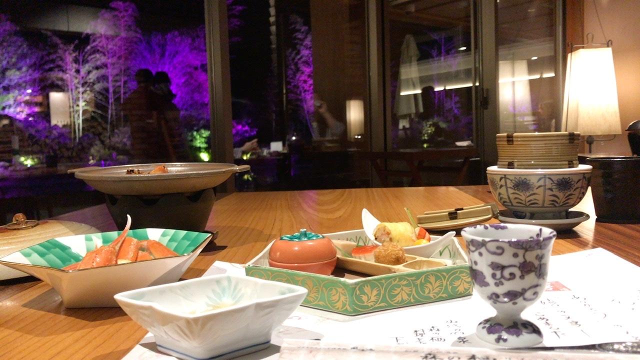 山代温泉 森の栖 夕食