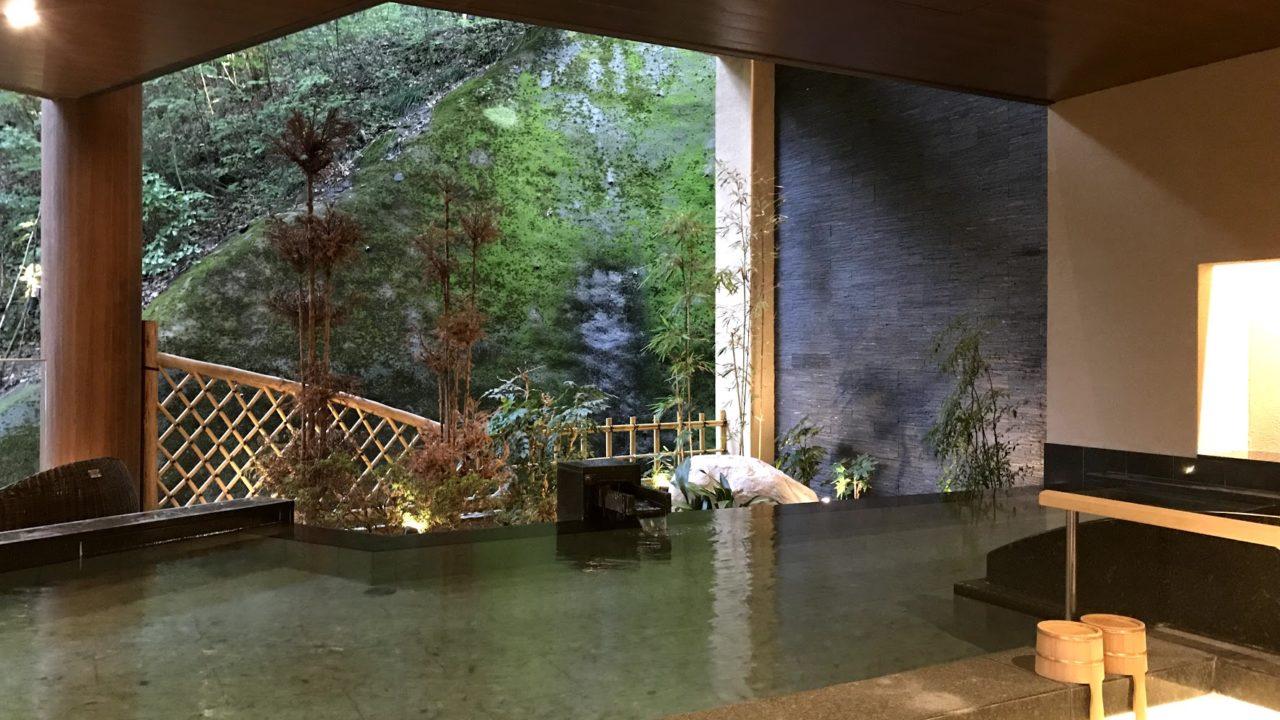山代温泉 森の栖 露天風呂